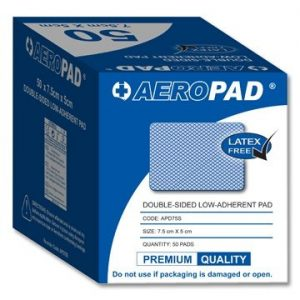 APD75S 7.5cmx5cm Double sided low-adherent pad